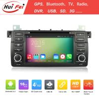 Buy cheap Huifei Android 4.4 1024*600 Capacitive Touch Screen 2 Din Car Radio For Bmw E46 from wholesalers