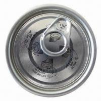 Buy cheap Tinplate Easy Open End for Food, with 52mm Nominal Dimension and Full Aperture Opening from wholesalers