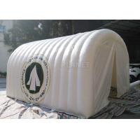 Buy cheap White Advertising Inflatable Tent , UV Resistant Inflatable Shelter Tent from wholesalers
