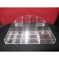 Buy cheap Crystal Table Top Acrylic Cosmetic Display Makeup Organizer For Rouge product