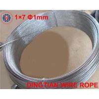 Steel strand wire rope 1*7