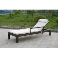 Buy cheap Swimming Pool Rattan Sun Lounger With All Weather Waterproof Cane from wholesalers