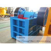 Buy cheap Track Mounted Pe Jaw Crusher Mining Rock Crusher With Ac Driving Motor from wholesalers