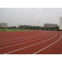 Buy cheap Anti Slipping EPDM Running Track , Skid Proof Coloured Rubber Crumb 6mm-14mm product