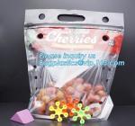 Buy cheap Resealable Fruits Vegetable Plastic Zip Lock Packaging Bags, OPP CPP Printed Grape Bags For Fruit, Fancy Zip-lock Plasti from wholesalers