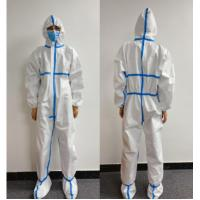Buy cheap Reliable Protection Disposable Protective Suit With Multiple Application product