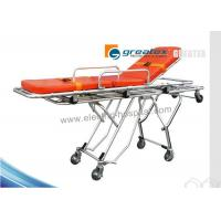 Buy cheap Hospital  Medical Stretcher Base Folding Ambulance Stretcher For Sale from wholesalers