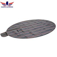 Buy cheap Extra Large Ethnic Style Picnic Blanket Oval Shape Family Picnic Blanket from wholesalers