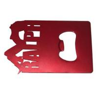 Buy cheap Custom metal bookmarks, Zinc alloy Personalised Bookmarks as bottle opener from wholesalers