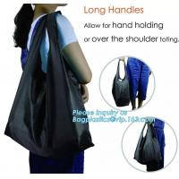 Buy cheap factory custom reusable 190t folding ball shaped foldable grocery nylon polyester shopping bag polyester bag promotion c from wholesalers