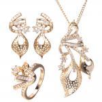 Buy cheap most popular designer fashion fake 18k gold plated pakistani wedding gold women jewelry sets from wholesalers