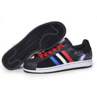 Buy cheap cheap Adidas Superstar 1 NBA - Black Blue Red Model: 246 from wholesalers