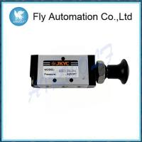 Buy cheap 4R Series Hand Draw Valve 4R110-06 / Single Head Double Position Manual Control Valve from wholesalers