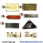 Buy cheap 3d handbags letter metal badge custom metal logo metal badges for bag from wholesalers