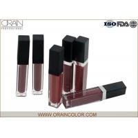 Buy cheap Matte Lip Plumping Lip Gloss , Flavored Lip Gloss Makeup Base Function from wholesalers