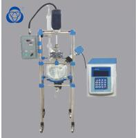 Buy cheap Using Stirrer Ultrasonic Chemical Glass Reactor Crystallization Equipment Customized Service from wholesalers