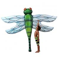 Buy cheap Summer Inflatable Dragonfly Pool Float Pool lake Lounge Bed Air Toy beach mattress from wholesalers