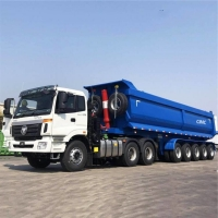 Buy cheap U Type 11M 5 Axle 100Ton Truck Hub Tipping Trailers from wholesalers