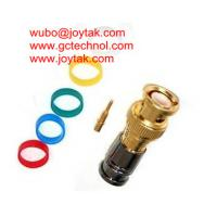 Buy cheap BNC Coaxial Connector BNC male Compression connector gold plated 50ohm for RG6 Coax Cable premium quality from wholesalers