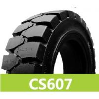 Quality solid forklift truck tires for sale