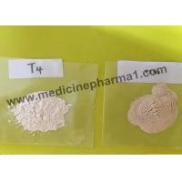 Buy cheap 99% Purity Steroid Raw T3 / Liothyronine Sodium for Weight Loss CAS 55-06-1 from wholesalers