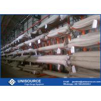 Buy cheap Adjustable Cantilever Storage Racks Heavy Duty For Fabric Rolls Storage from wholesalers