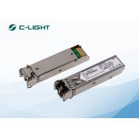 Buy cheap 850nm 300m SFP Optical Transceiver , 1000BASE-SX SFP for Multimode Fiber from wholesalers