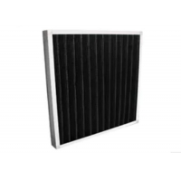Buy cheap Eradicate Odor Synthetic Fiber Filter / Mini - Pleat Activated Carbon Filters product