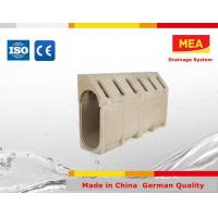 Buy cheap EN1433 Drain polyester concrete kerb from wholesalers