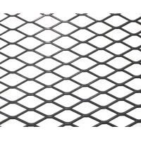 Buy cheap Small Hole Thick Expanded Metal Mesh For Rendering , 25-500mm Wire Diameter from wholesalers