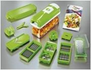 Buy cheap 12 Set Nicer Dicer Plus Green Vegetable Multifunction Chopper Easy to Storage AS SEEN ON TV from wholesalers