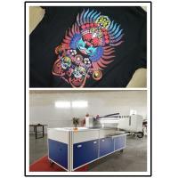 Buy cheap Commercial T Shirt Printing Machine A3 Size With 8 Pcs Ricoh Print Heads from wholesalers