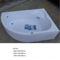 Buy cheap Corner Bathroom Acrylic Free Standing Bathtub with Good Heat Preservation from wholesalers