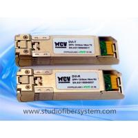 Buy cheap 10KM dual 1310nm 10G SFP+ Transceiver module applied in Telecommunications room,data center ,DVI,HDMI fiber converter from wholesalers