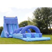 Buy cheap giant inflatable water slide adult size inflatable water