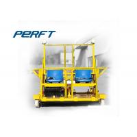 Buy cheap The Double 20 ton Rail Detection Transfer Cart For Scanning Steel Rails from wholesalers