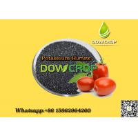 Buy cheap DOWCROP HOT SALE  POTASSIUMHUMATE FLAKES HIAH QUALITY 100% COMPLETELY WATER SOLUBLE  ORGANIC  FERTILIZER   BLACK FLAKES from wholesalers