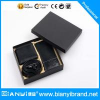 Buy cheap High quality 2015 new business wallet belt leather gift set from wholesalers