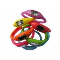 Buy cheap Eco - Friendly 3ATM Japan Movement Silicone Ion Sports Watch / Free to Take Swimming  from wholesalers