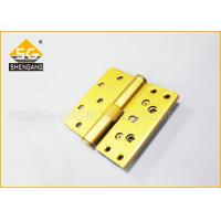 Buy cheap Three Way Zinc Alloy / Iron Movable Butt Hinges Cerniere A Farfalla from wholesalers