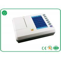 Buy cheap 12 Leads Wireless ECG Machine , ECG Monitoring Device 7 Inch LCD Display from wholesalers