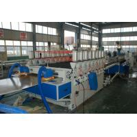 Buy cheap 1220*2440*30mm Profile WPC Extrusion Line , Emboss Machine from wholesalers