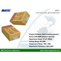 Buy cheap Excellent Operation Performance KEMET T491 Chip SMD Tantalum Capacitor 0.1μF ~ 330μF, 4V - 50V from wholesalers
