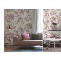 Buy cheap Art  Flowers Designs  Non-woven Waterproof PVC Wallpaper For Bedroom from wholesalers