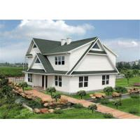 Buy cheap Economical Modern Prefab Homes , Luxury Steel Frame House for Entertainment from wholesalers