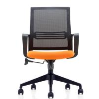 Buy cheap Modern Staff Black Nylon Mesh Chair , Mid Back Office Furniture Swivel Chairs from wholesalers