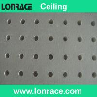 Buy cheap gypsum perforated ceiling from wholesalers