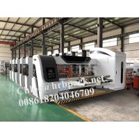 Buy cheap HRB Pack High Definition Flexo Printer Slotter Die Cutter Corrugated Carton Box Machine from wholesalers