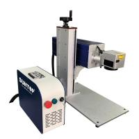 Buy cheap 10W 20W 30W CO2 Laser Marking Device Fast Speed Batch Coding For Glass Plastic Bottle from wholesalers