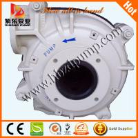 Buy cheap rubber liners slurry pump from wholesalers